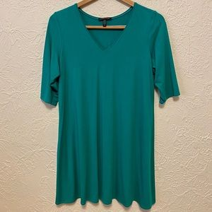 Eileen Fisher Teal Tunic